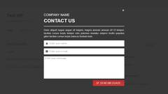 Layered Popups - Contact Form Popup #09