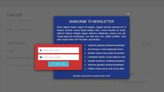 Layered Popups - Subscription Form Popup #06